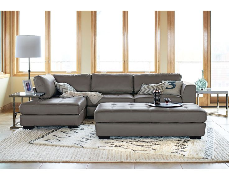 If you got a big home, you need a big sectional! The Ciera IV Collection | Value City Furniture