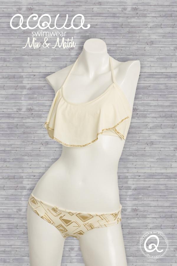 Gold sea  acqua swimwear