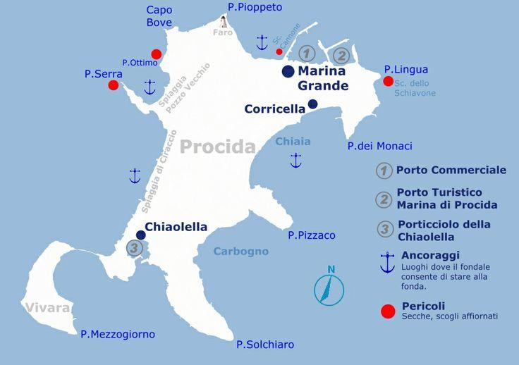 Coste dell'Isola di Procida - Napoli