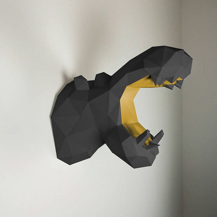 New Paper Animal Trophies – Fubiz Media