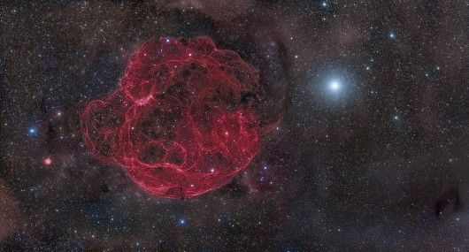 Simeis 147 Supernova Remnant by Rogelio Bernal Andreo (USA)