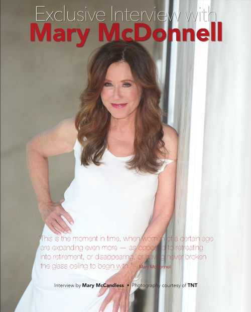 """Major Crimes Mary McDonnell Hairstyle 