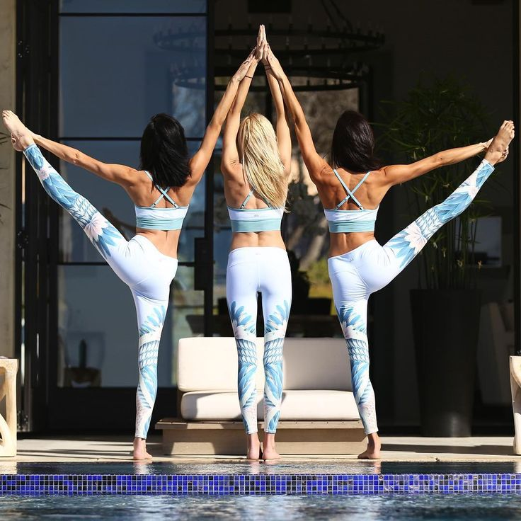 """""""Friendship is the purest love. It is the highest form of love where nothing is asked for, no condition, where one simply enjoys giving."""" – Osho. @gypsetgoddess & @chintwins are featured in the Gypset Goddess x Alo Aria Bra & Airbrush Legging."""