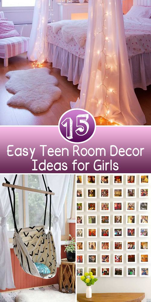 Best 15 Easy T**N Room Decor Ideas For Girls Projects Make 400 x 300