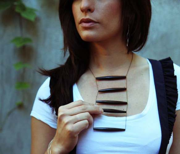 Bone Gold Necklace by Daily San Franciscan