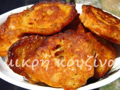 μικρή κουζίνα: Ντοματοκεφτέδες Σαντορίνης