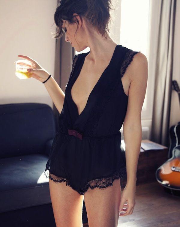 Le body flou ou la parfaite tenue d'intérieur - http://bit.ly/19UKBri - Tendances de Mode