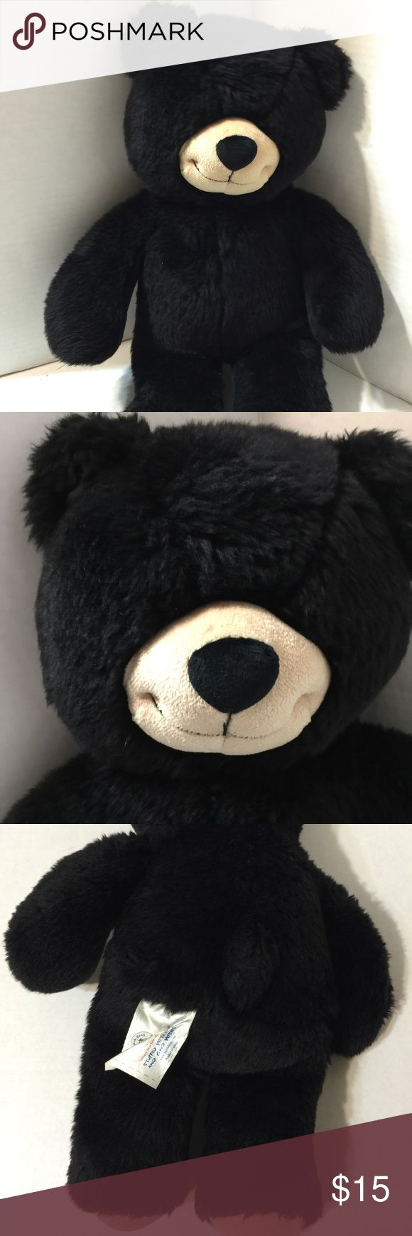 Build A Bear Black Bear Used (box BB21) Build A Bear Black Bear Used (box BB21). Used but in good condition. SHOWS NORMAL WEAR AND TEAR   SEE PICTURES FOR WHATS INCLUDED. WHAT'S IS IN THE PICTURE IS WHAT YOU WILL BE  RECEIVING. Build A Bear Other
