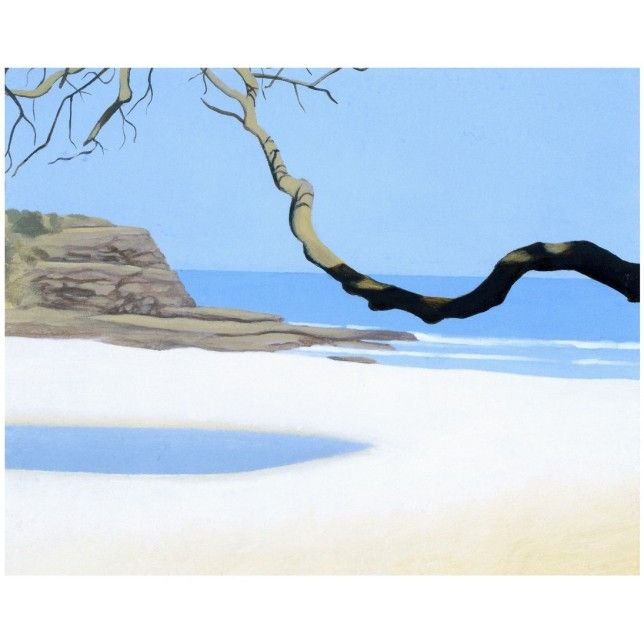 View from Shack, Era Beach by Reg Mombassa. Signed limited edition available from The SMH Shop.
