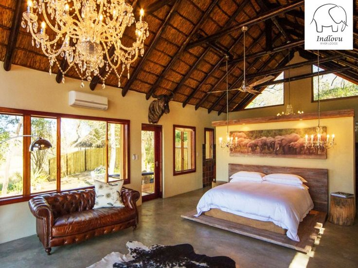 Our Ndlulamithi Superior Villa is simply breathtaking! It sleeps two with a river view and outdoor shower. Link: http://ow.ly/6McQ30biBgm