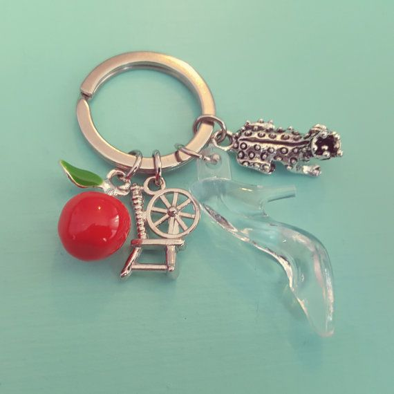 Once Upon A Fairytale Keyring from OrdinaryOctopus on etsy