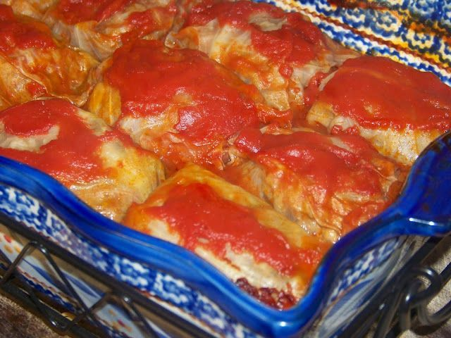 Cabbage Rolls - Mrs Happy Homemaker