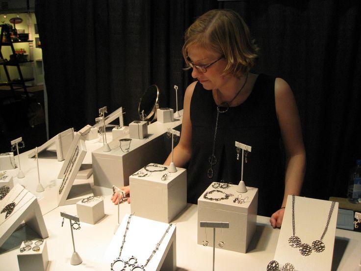 nice jewelry display