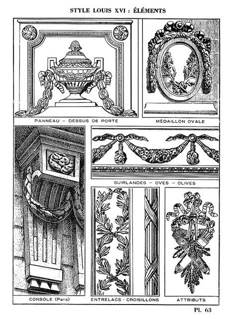 Toutes les tailles | Style Louis XVI - Éléments, via Flickr.