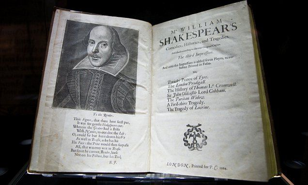 American buys including rare copy of Shakespeare's First Folio