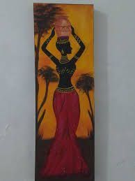 Image result for negras africanas pintadas en mdf