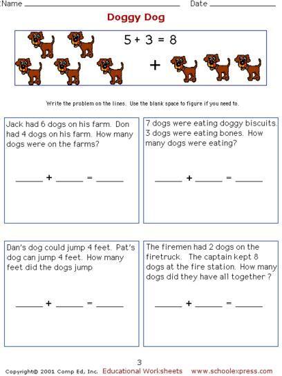 Addition Worksheets addition worksheets horizontal : Math Worksheets, Free Addition Worksheets, Story Problems ...