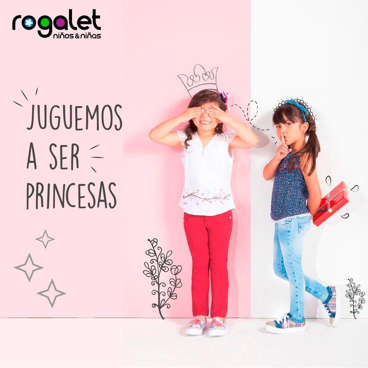 Juguemos a ser princesas, diseños exclusivos y únicos para las mujeres de la casa en #RogaletJeans te esperamos en el Centro Comercial Gran San Cra 10 No 9-37 Locales: 2180-2215-1252