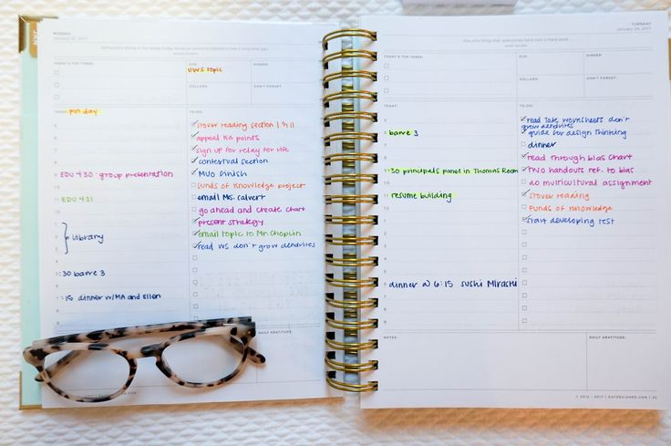 how to organize your day designer planner