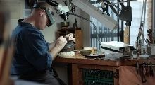 Yugen - a 12min. film by Bradshaw Schaffer about Ford Hallam making another amazing tsuba.