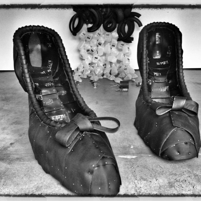 how to make shoes out of tires