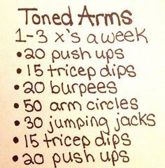 arms workout for women - Google Search