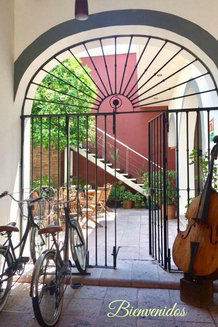 La Casa del Naranjo Hotel Boutique en el   Centro de Queretaro,México.  Ven a visitarnos