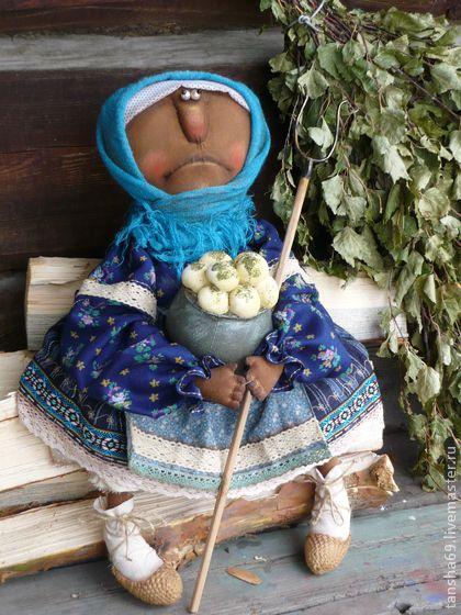 Картоха!!! - тёмно-синий,примитив,примитивная кукла,примитивы,текстильная кукла