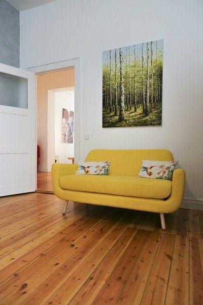 Jonah 3-Sitzer-Sofa, Marineblau - MADE.COM | MADE.COM