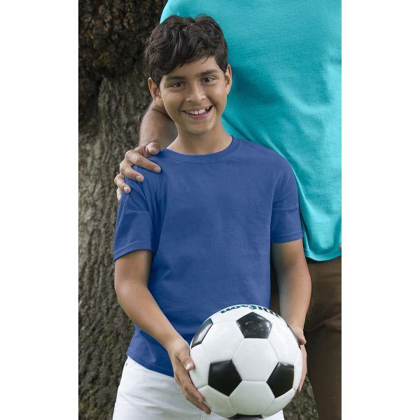 Unisex Heavyweight Cotton Youth T-Shirt. 100% Cotton Jersey Preshrunk, 8.9 oz…