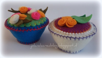Jolanda's Crea-Blogg: Vilten Cupcake's