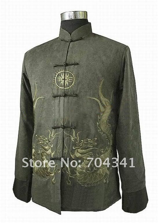 This item is now available in our shop.   Free Shipping!! New Chinese Men's Embroider Dragon Mandarin Collar  Long Sleeve Kung-Fu Jacket Coat  MLJ0032 - US $22.49 http://promenshop.com/products/free-shipping-new-chinese-mens-embroider-dragon-mandarin-collar-long-sleeve-kung-fu-jacket-coat-mlj0032/