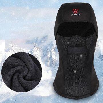 High-quality Mens Winter Warm Fleece Full Hood Face Mask Windproof Dustproof Head Cover Neck Waterproof Hat  - NewChic Mobile