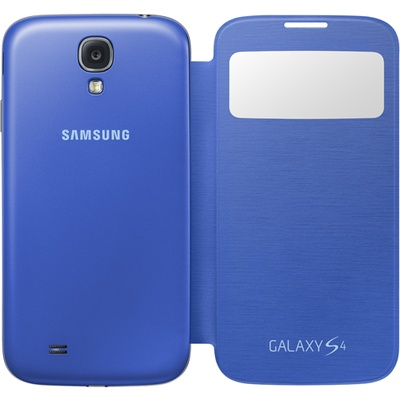 S View Cover Galaxy S4 Rigel Blue