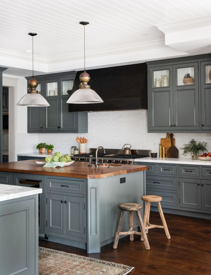 Glass Kitchen Cabinet Doors Ideas And Inspiration Hunker