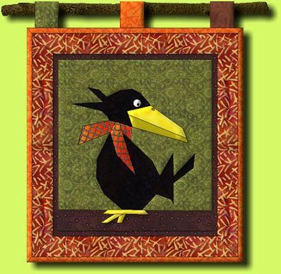 regina grewe - textile landschaften - muster - vogelwelt | vogel quilt, schnittmuster zum nähen