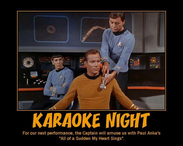 85fa6794655288e07ce5fd1d75229be0 star trek meme funny star trek 11 best karaoke images on pinterest karaoke, cartoons and 3 ring,Karaoke Meme
