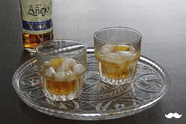Rum Old Fashioned cocktailrecept op Cocktailicious.nl