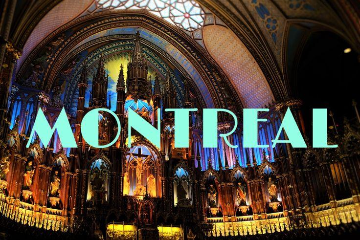 ノートルダム大聖堂 モントリオール カナダ