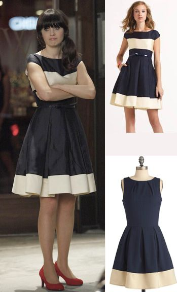 A dress just like Jess's from season 1 is back in stock!  Not the exact one but pretty close and affordable <3