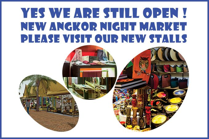 Welcome to Angkor Night Market - Siem Reap Cambodia | The Original Night Market in Cambodia.