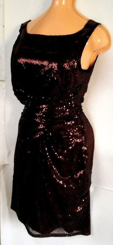 WAREHOUSE sexy Women   Cocktail Party Ball Prom Gown Formal DressPurpl UK size M #WAREHOUSE #Sundress #Casual