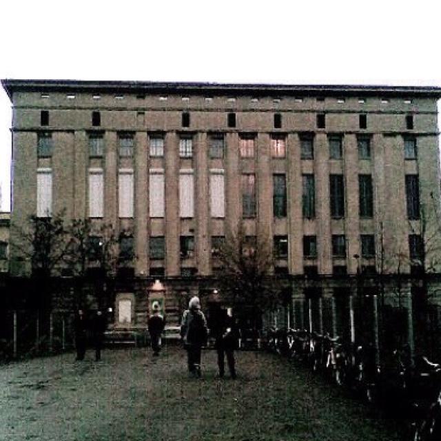 Berghain, Berlin.