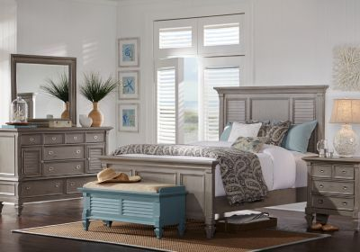 Belmar Gray 5 Pc King Panel Bedroom. $1,288.00. Find affordable Bedroom Sets for your home that will complement the rest of your furniture.