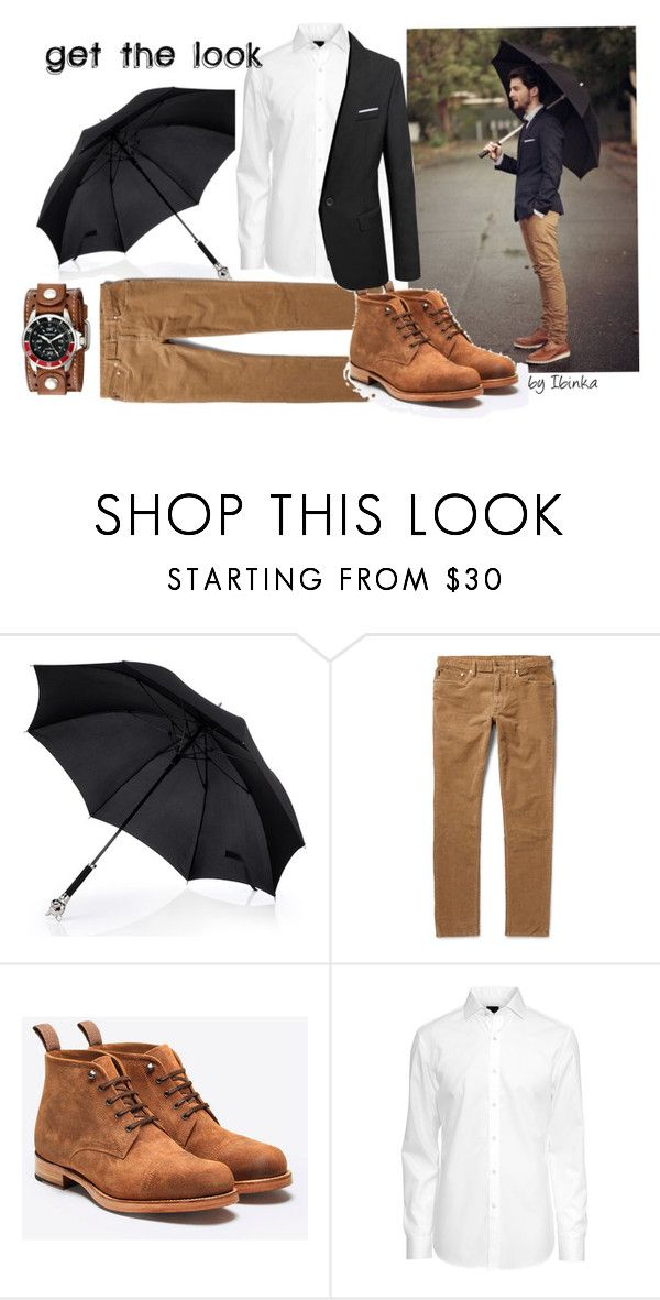 Get the look: 50's look to try by ibinka on Polyvore featuring H&M, Nemesis, Polo Ralph Lauren and Grenson