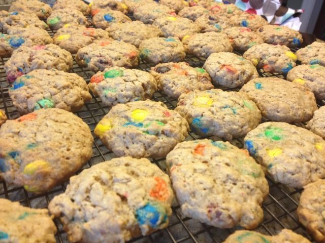 M&M Lactation Cookies for increasing breast milk supply