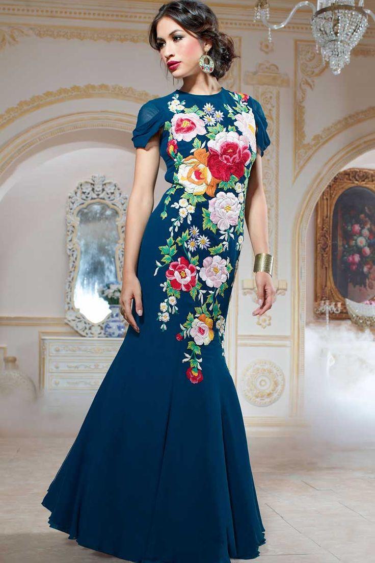 Bleu robe georgette de Anarkali avec la mode Prix 105,92 € .Andaaz présente une nouvelle arrival.Embellished brodé, Resham, Zari, la pierre et hand.It est parfait pour l'usure du festival, usure du parti de mariage et de la mode est wear.Andaaz usure la plus populaire, concepteur en ligne marques de magasins ethniques.  http://www.andaazfashion.fr/blue-georgette-anarkali-gown-dmv13467.html