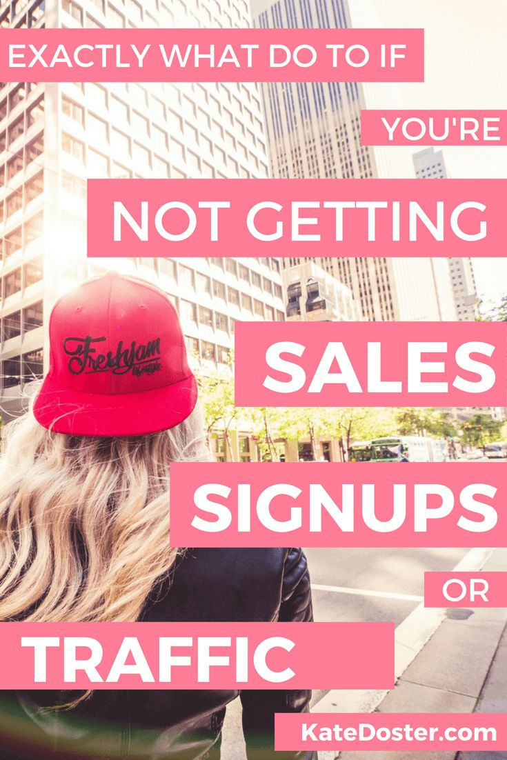 Tips for beginner bloggers, What do if you're not getting any sales, signups or traffic. Save now or click through to make your bank account smile