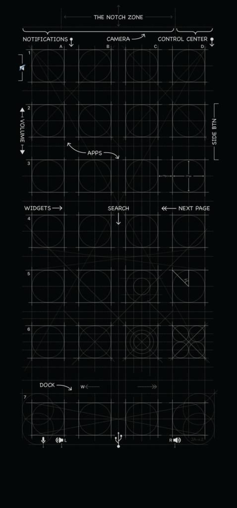 Iphone X Background 4k Blueprint Background For Iphone 6 Copy X Wallpaper In Black By Mrdude42 On Deviantart Download Free