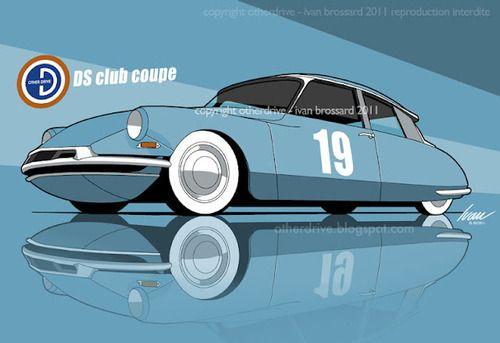 Citroen DS Club Coupé